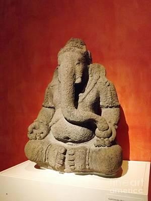 Hindu Statue God Ganesha Art Print