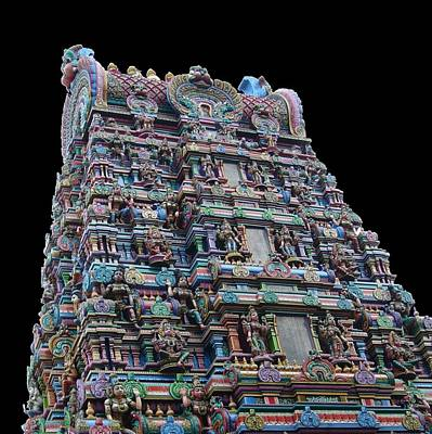Parvati Digital Art - Hindu Temple by Gregory Smith