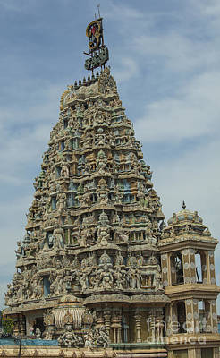 Classical Masterpiece Still Life Paintings - Hindu temple by Patricia Hofmeester