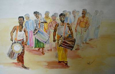 Hindus Festival Art Print
