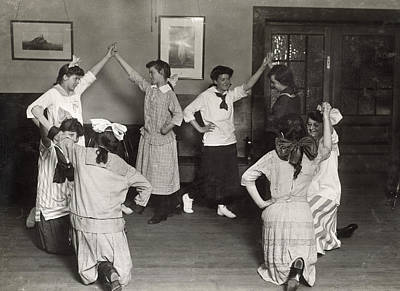 Photograph - Hine: Folk Dancing, 1916 by Granger