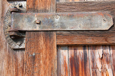 Photograph - Hinge Door  by Minnie Lippiatt