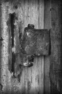 Photograph - Hinged In Black And White by Nadalyn Larsen