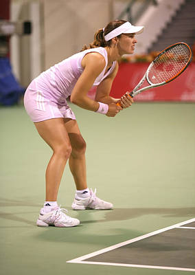 Hingis In Doha Art Print