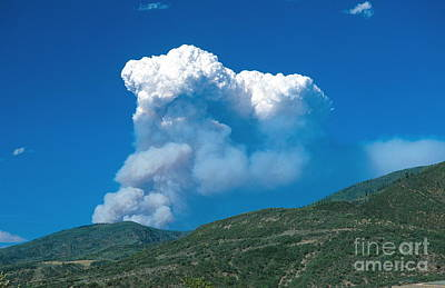 High Park Wildfire Photograph - Hinman Fire by Chris Selby