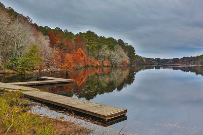 Hinson Lake Art Print