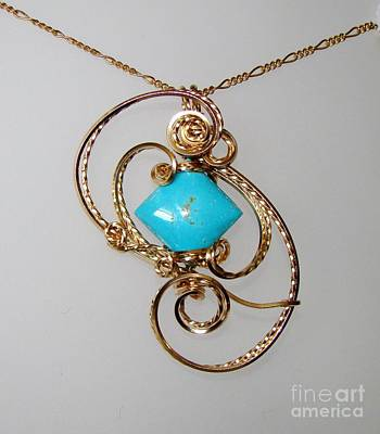 Gold Fill Wire Jewelry - Hip To Be Square by JoLen Confer