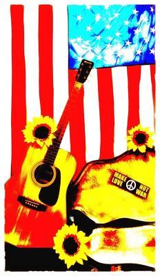 Hippie Dreamin' Art Print