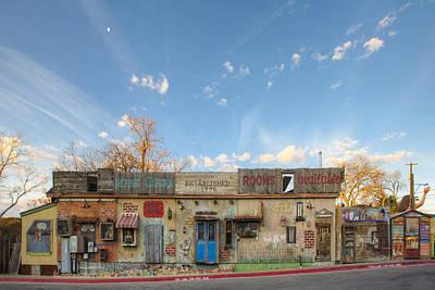 Hippie Opera - South Austin Texas Art Print by Rob Greebon