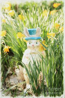Photograph - Hippity Hoppity Easter's On The Way by Benanne Stiens