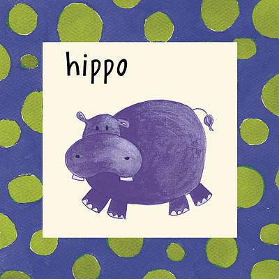 Police Car Painting - Hippo by Esteban Studio