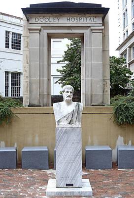 Hippocrates Statue - Richmond Virginia Art Print