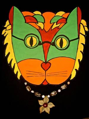 Photograph - Hippy Cat by Stephanie Moore