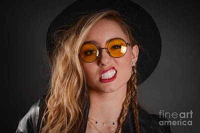 80s Hair Photograph - Hippy Chic by Jt PhotoDesign