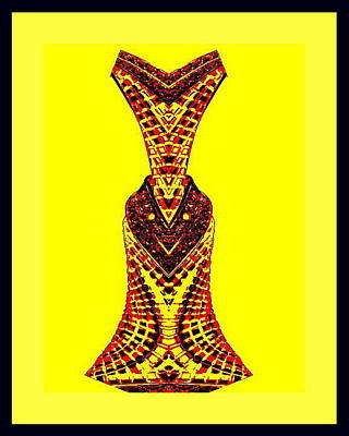 Hippy Dress Art Print