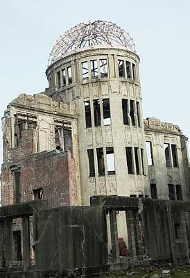 Peace Tower Wall Art - Photograph - Hiroshima Peace Memorial by Andy Crump/science Photo Library