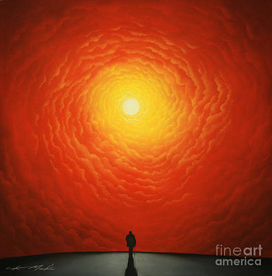 Painting - His Final Destiny by Chris Mackie