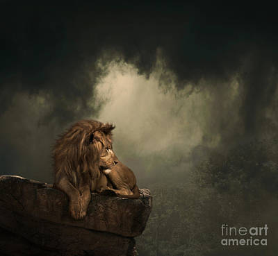 Digital Art - His Kingdom by Lynn Jackson