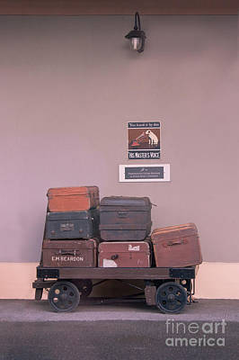 Photograph - His Masters Luggage by Terri Waters
