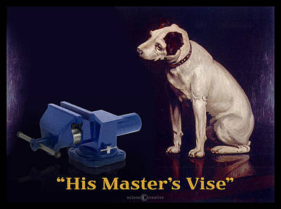 Painting - His Master's Vise by Tim Nyberg
