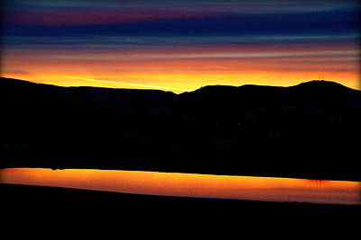 Thermopolis Photograph - His Pastels.. by Al  Swasey