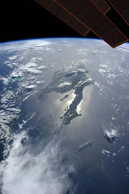 View From Space Photograph - Hispaniola by Nasa