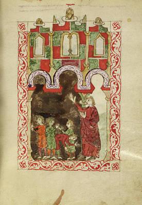 Religious Festival Photograph - Hispano-moresque Haggadah by British Library