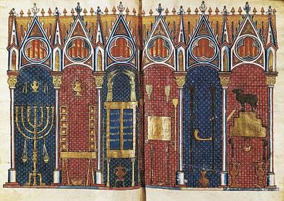 Medieval Temple Photograph - Historia Scholastica Scholastic History by Everett