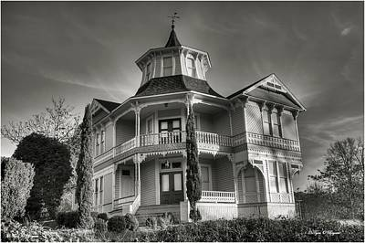 Photograph - Historic 1891 Parrott Mansion  by Tyra  OBryant