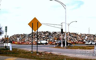 Photograph - Historic Aftermath Of Entire Neighborhoods Post Hurricane Katrina Photo by Michael Hoard