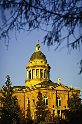 Historic Auburn Courthouse 5 Art Print