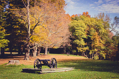Photograph - Historic Autumn by Sara Frank
