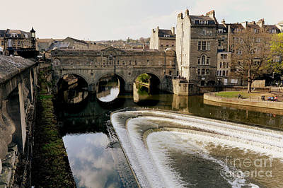 Historic Bath Art Print