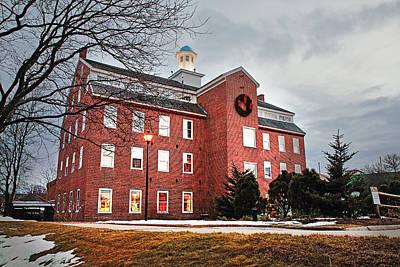 Photograph - Historic Belknap Mill by Robert Clifford