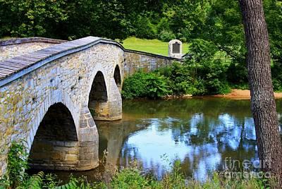 Historic Burnside Bridge Art Print