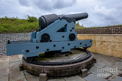 Photograph - Historic Cannon by Dale Powell