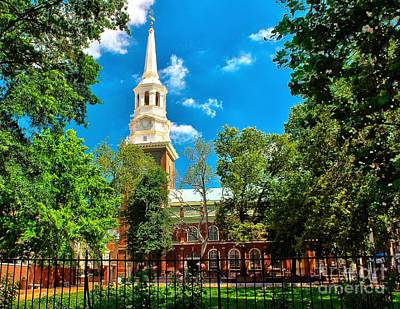 Photograph - Historic Christ Church by Nick Zelinsky