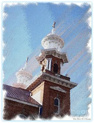 Photograph - Historic Church Steeples by Bobbee Rickard