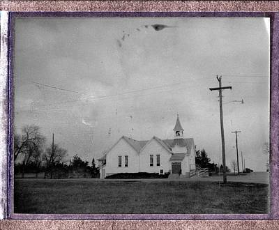 Photograph - Historic Church - Whitney Nebraska by HW Kateley