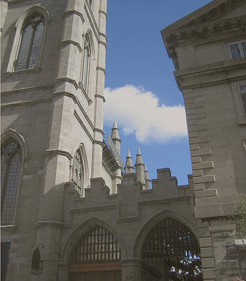 Photograph - historic churches photography Detail Notre Dame Basilica Montreal by Ann Powell