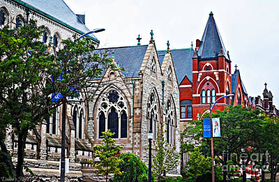 Photograph - Historic Churches St. Louis Mo 1 by Debbie Portwood