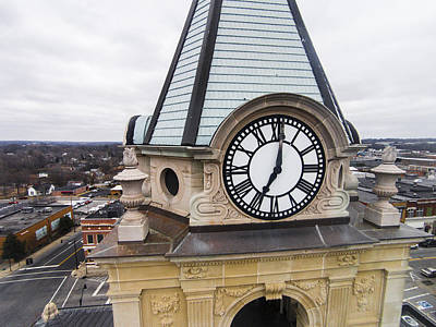 Photograph - Historic Clock Tower by Sam Grant