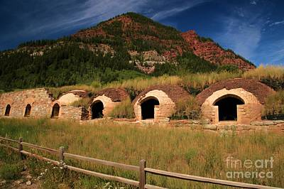 Photograph - Historic Coke Ovens by Adam Jewell