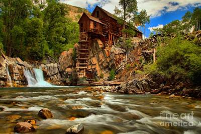 Photograph - Historic Colorado Landscape by Adam Jewell
