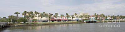 Historic Daytona Florida Pano Art Print
