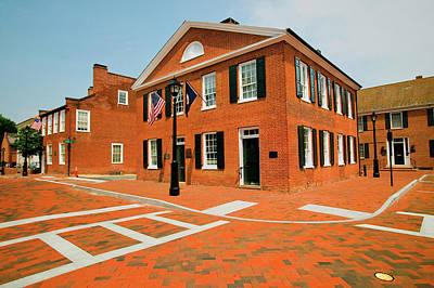 Historic District Of Charlottesville Art Print