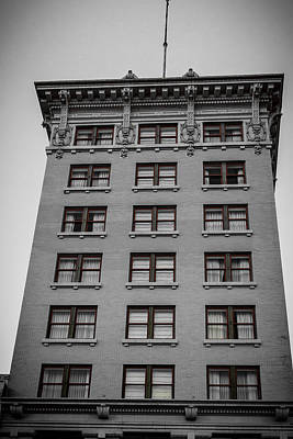 Photograph - Historic Downtown Building by Melinda Ledsome