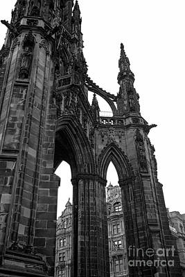 Photograph - Historic Edinburgh Architecture by Kate Purdy