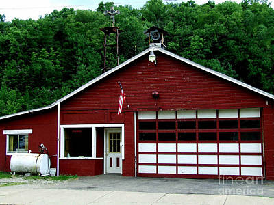 Photograph - Historic Fire Station by Scott B Bennett