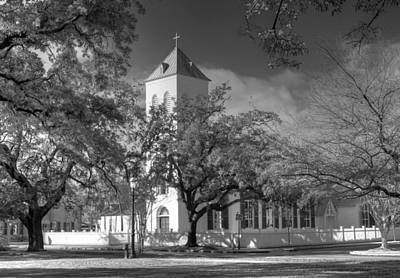 Photograph - Historic First Church by David Troxel
